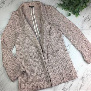 Topshop Women's Soft Long Cardigan Sweater Jacket